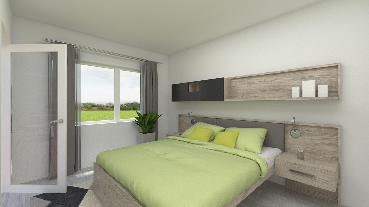 neubau 4 zimmer eigentumswohnung eg 111 m wehr haus lessing. Black Bedroom Furniture Sets. Home Design Ideas