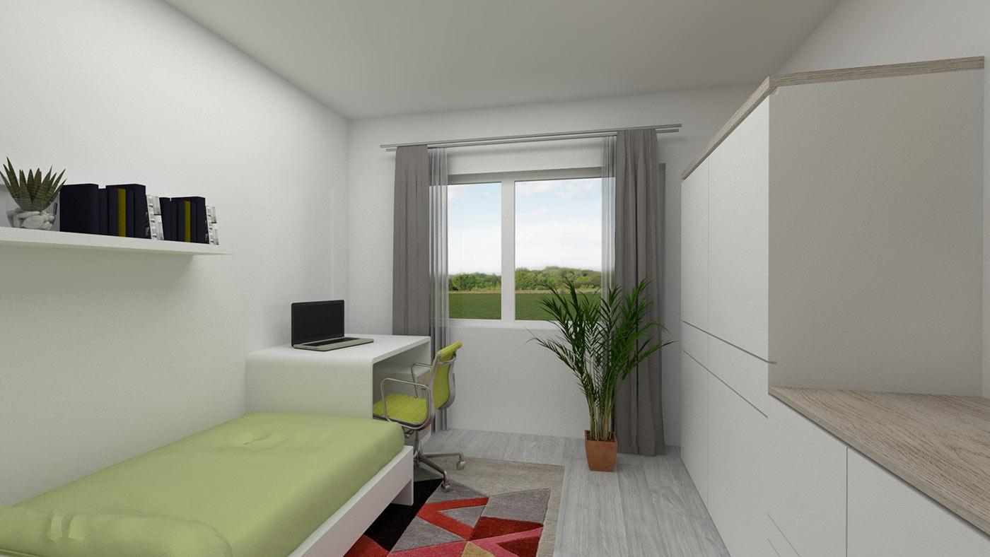 neubau 4 zimmer eigentumswohnung og 113 m wehr haus lessing. Black Bedroom Furniture Sets. Home Design Ideas