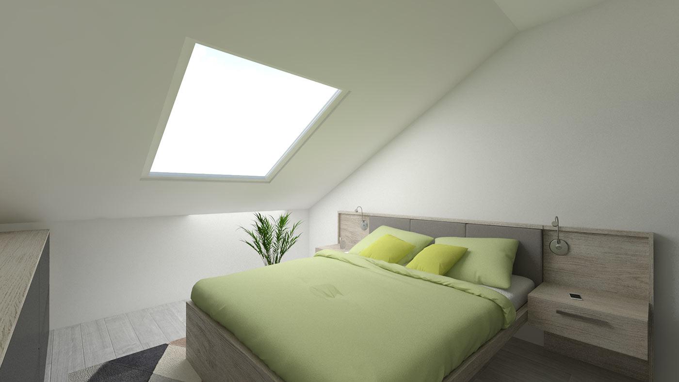 neubau 4 zimmer eigentumswohnung dg 99 m wehr haus lessing. Black Bedroom Furniture Sets. Home Design Ideas